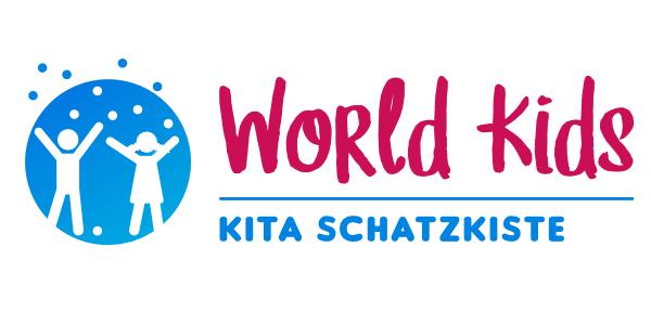 world kids kita scahtzkiste logo